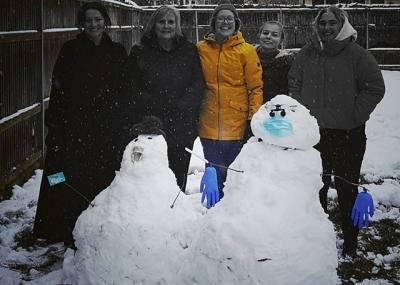 Snowy Eynsham